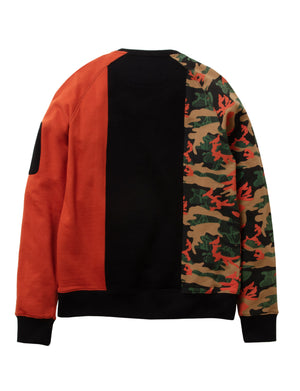 Camo Pieced Crewneck - Pullover | Staple Pigeon