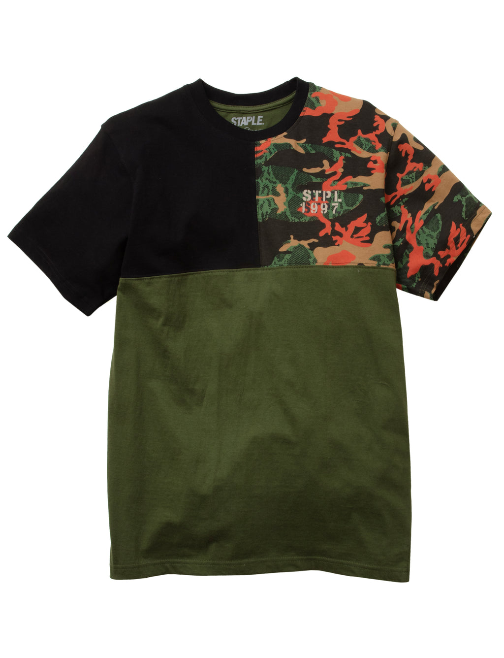 Camo Pieced Tee - Tee | Staple Pigeon