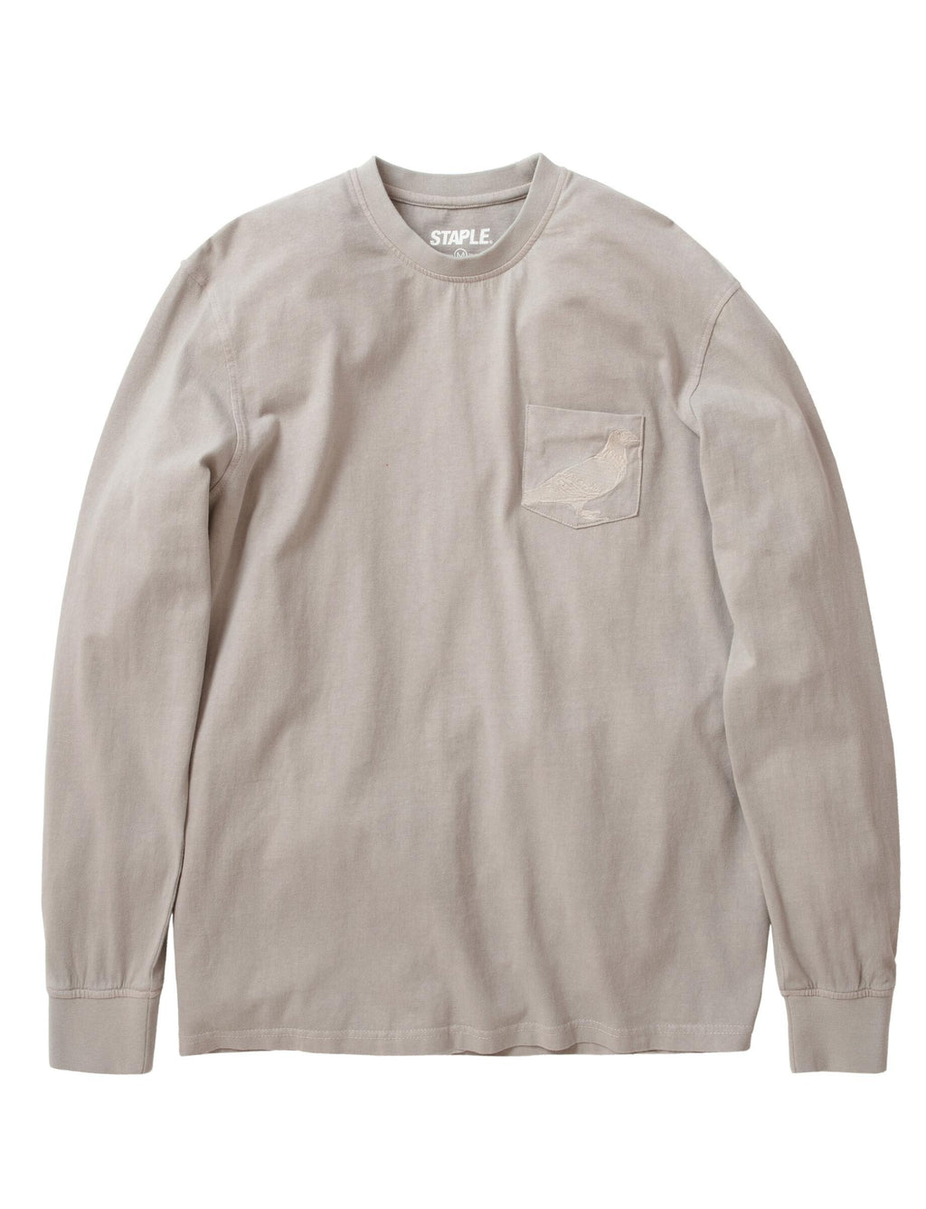 Garment Wash LS Pocket Tee - Tee | Staple Pigeon