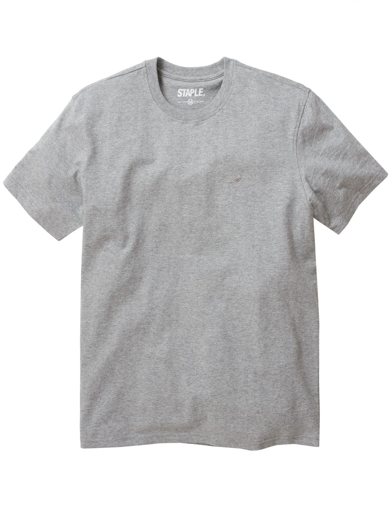 Tonal Pigeon Embroidered Tee - Tee | Staple Pigeon