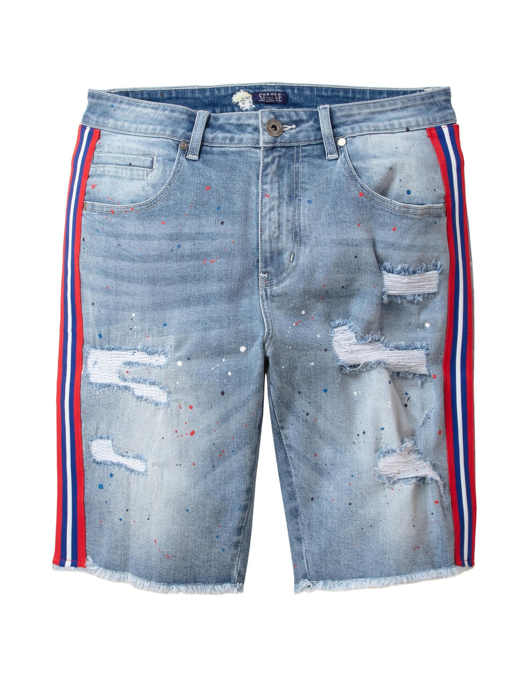 Drip Denim - Shorts | Staple Pigeon