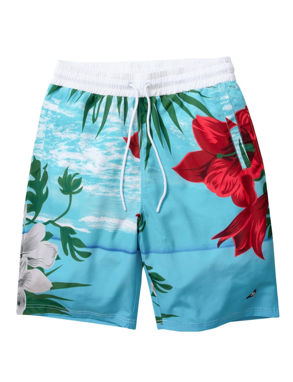 Printed Nylon Short - Shorts | Staple Pigeon