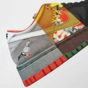 "PRE-SALE / Steph F Morris x Jeff Staple ""Pigeon"" - Picture 