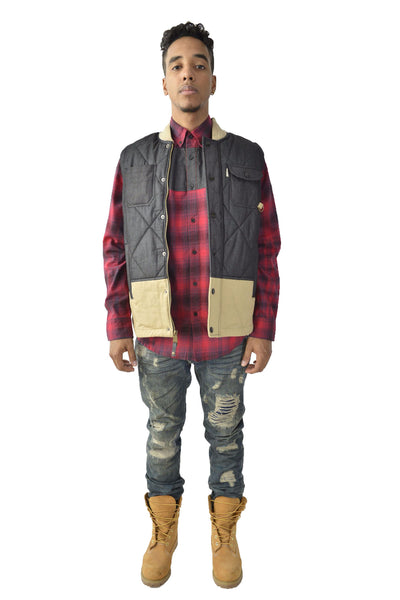 Hunter Quilted Vest - Vest - Staple Pigeon