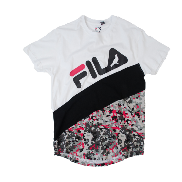 Staple x Fila Split Camo Tee - Tee - Staple Pigeon