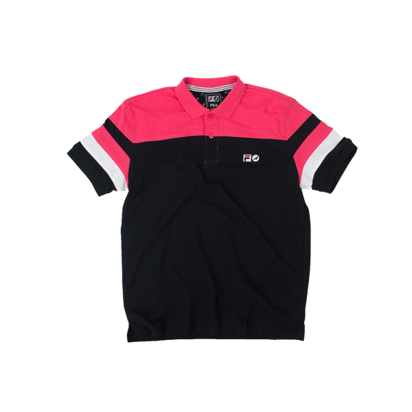 Staple x Fila Block Polo - Tee - Staple Pigeon