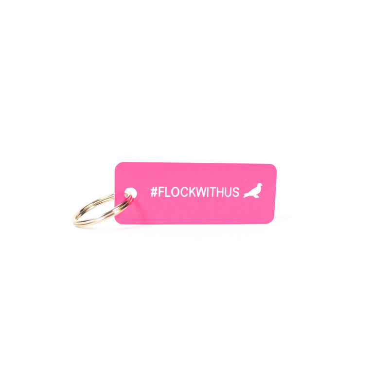 Staple X Various Projects #FLOCKWITHUS Keytag - Key Chain | Staple Pigeon