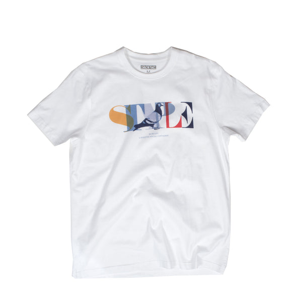 Partition Pigeon Tee - Tee - Staple Pigeon