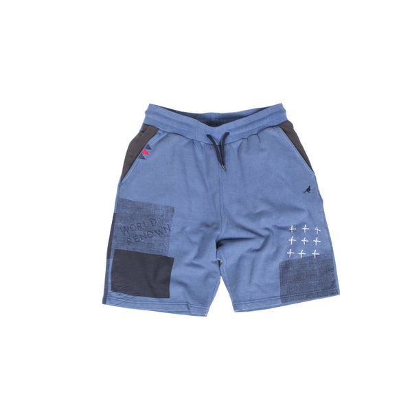 Patchwork Sweatshort - Shorts - Staple Pigeon