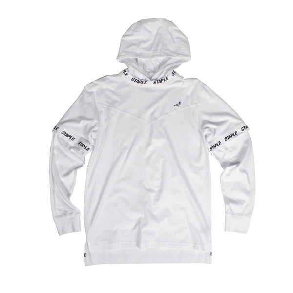 Tech Hooded L/S Tee - Hoodie - Staple Pigeon