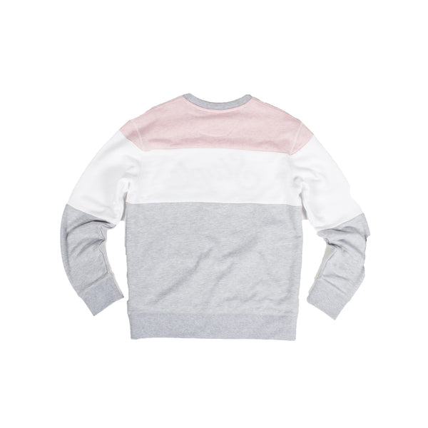 Blocked Heather Crew - Pullover - Staple Pigeon