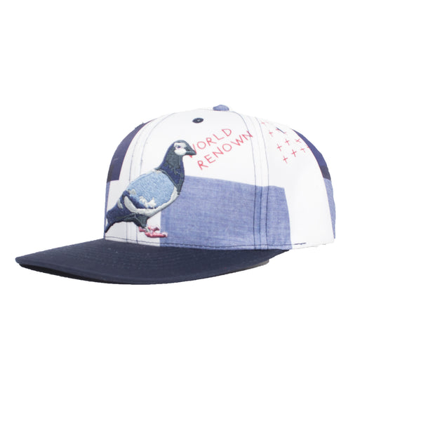 Patchwork Pigeon Snapback - Hat - Staple Pigeon