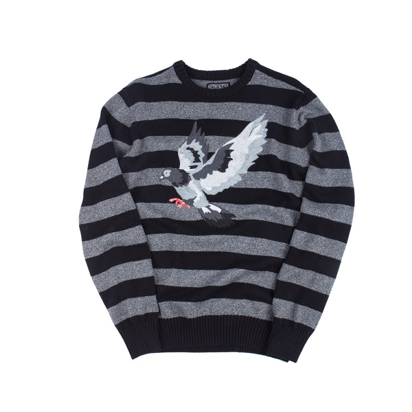 Striped Pigeon Sweater - Tee - Staple Pigeon