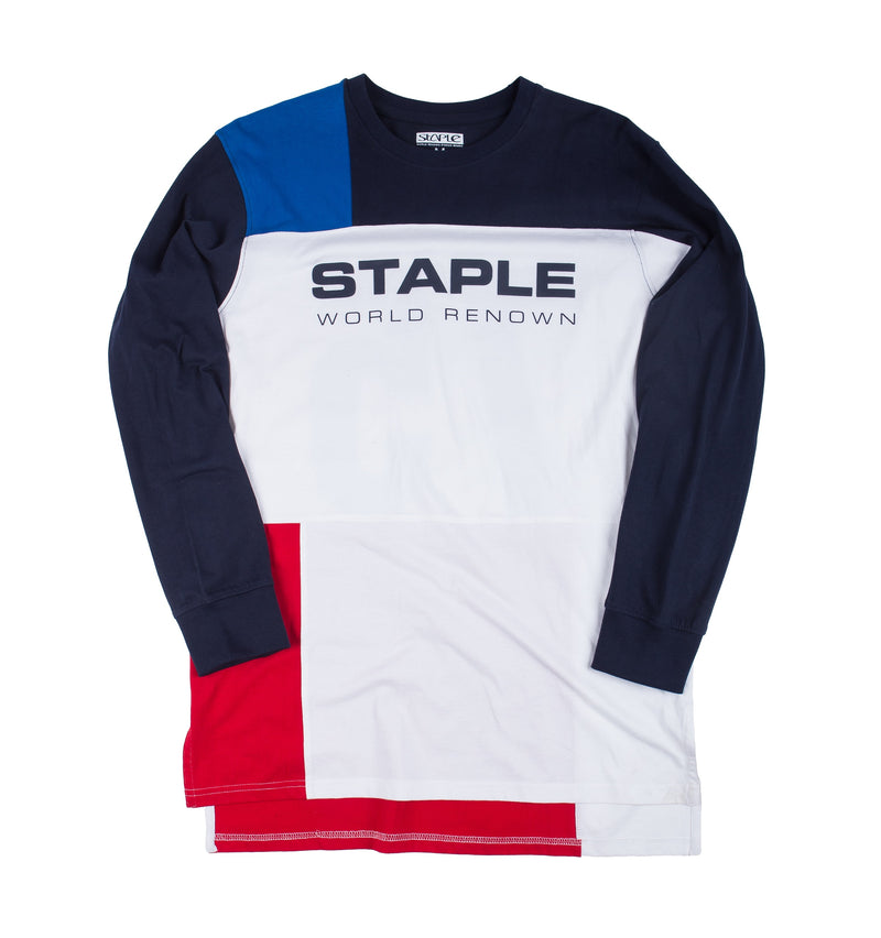 Expedition Block L/S Tee - Tee | Staple Pigeon