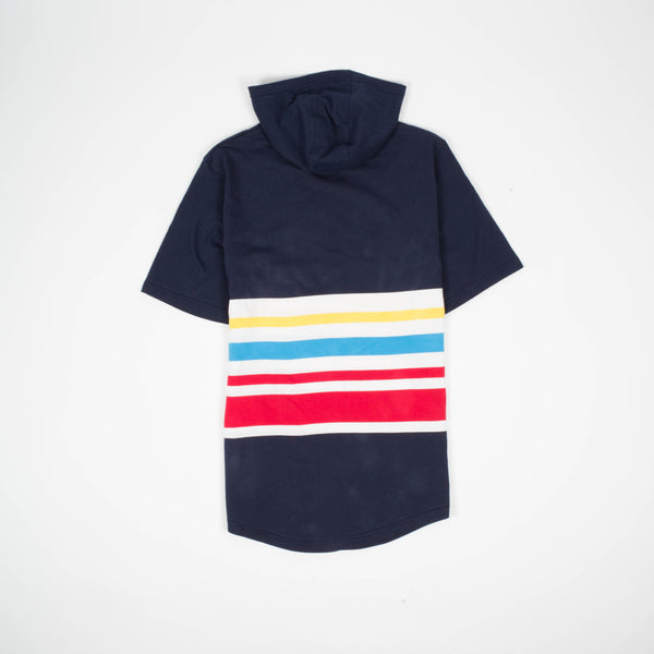 Primary Stripe Hooded Tee - Tee - Staple Pigeon