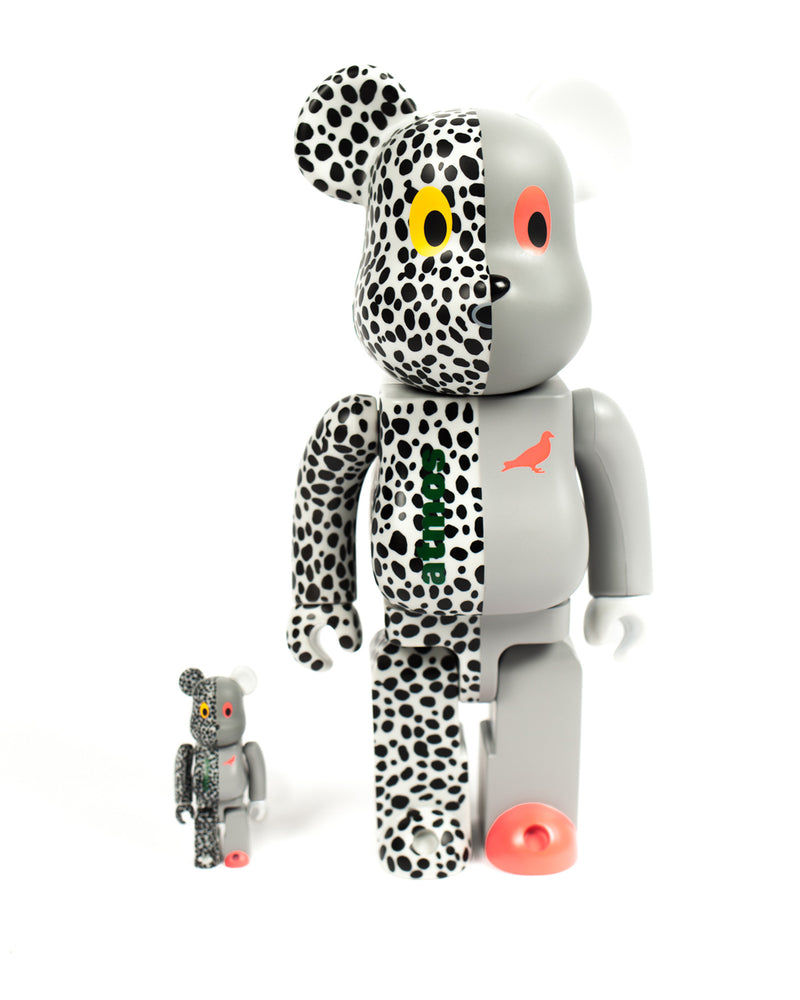 Staple x Atmos x Medicom Toy 400% and 100% Be@rbrick Set - Toy | Staple Pigeon