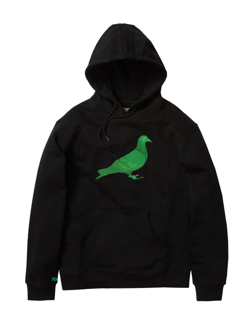 420 Pigeon Embroidered Hoodie - Sweatshirt | Staple Pigeon