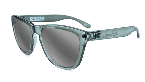 Staple X KA Monochrome Sunglasses Grey - Sunglasses - Staple Pigeon