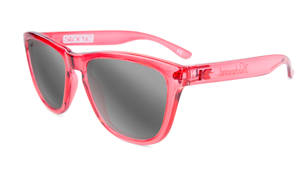 Staple x Knockaround Monochrome Sunglasses Pink - Sunglasses | Staple Pigeon