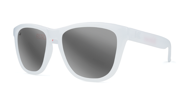 Staple X KA Monochrome Sunglasses White - Sunglasses - Staple Pigeon