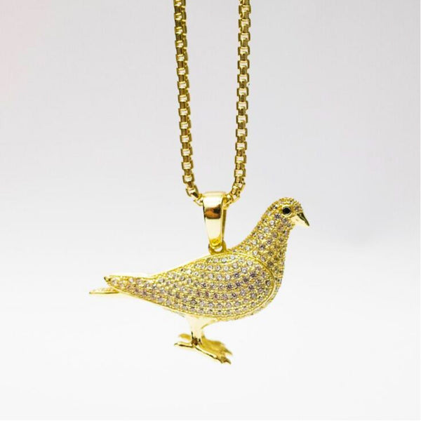 King Ice x Staple Pigeon Iced Out Pendant - Accessories | Staple Pigeon