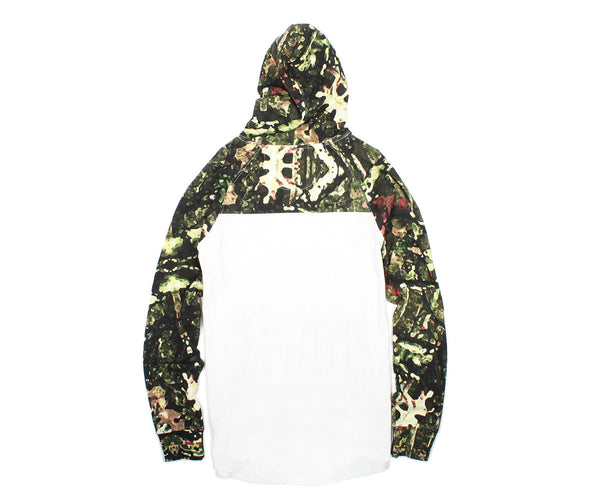 Forest Camo Hooded Tee - Tee - Staple Pigeon