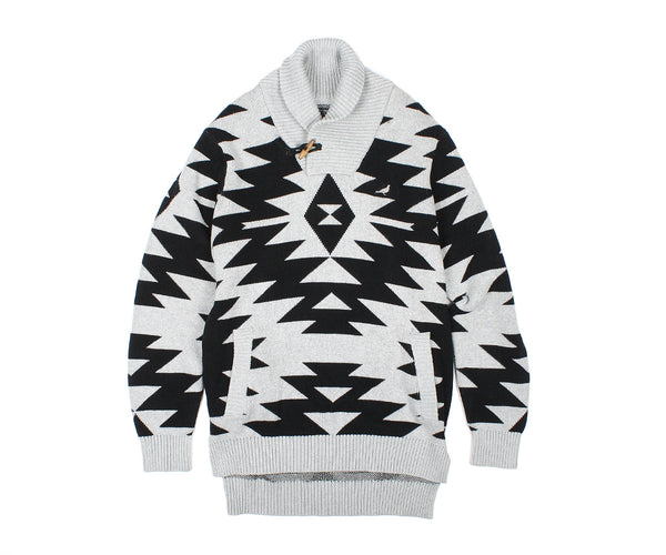 Native Shawl Sweater - Sweatshirt - Staple Pigeon