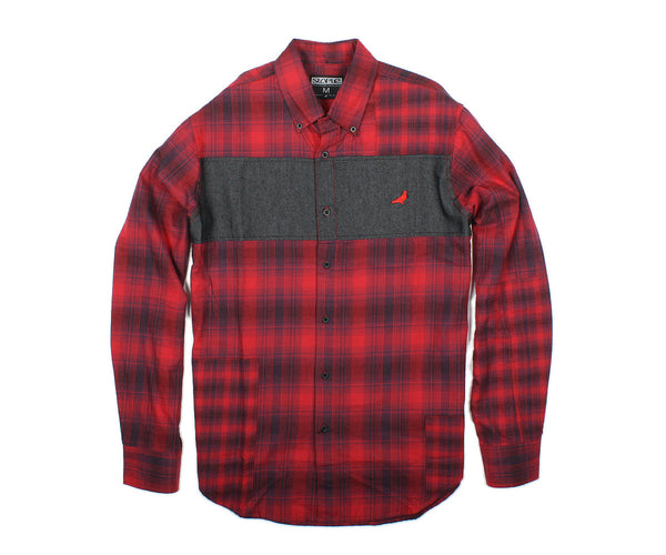 Hunter Flannel Shirt - Woven - Staple Pigeon