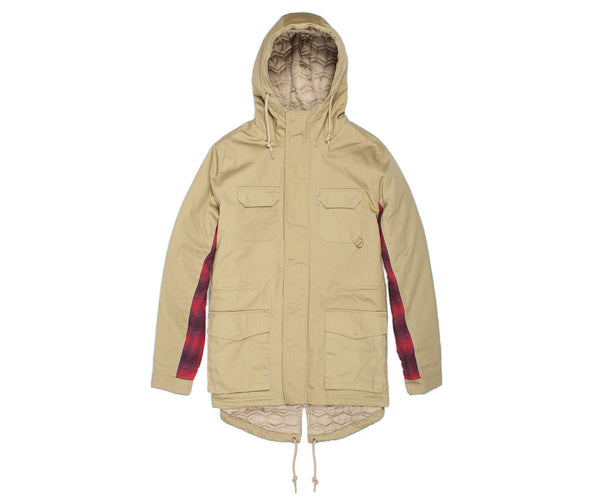 Hunter Parka - Jacket - Staple Pigeon