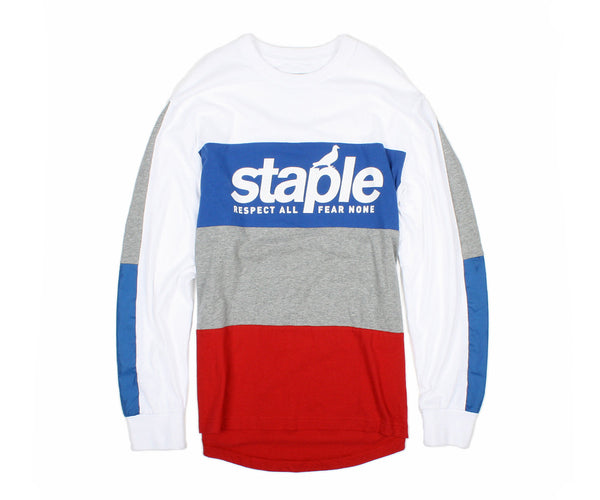 True Blue L/S Tee - Tee - Staple Pigeon