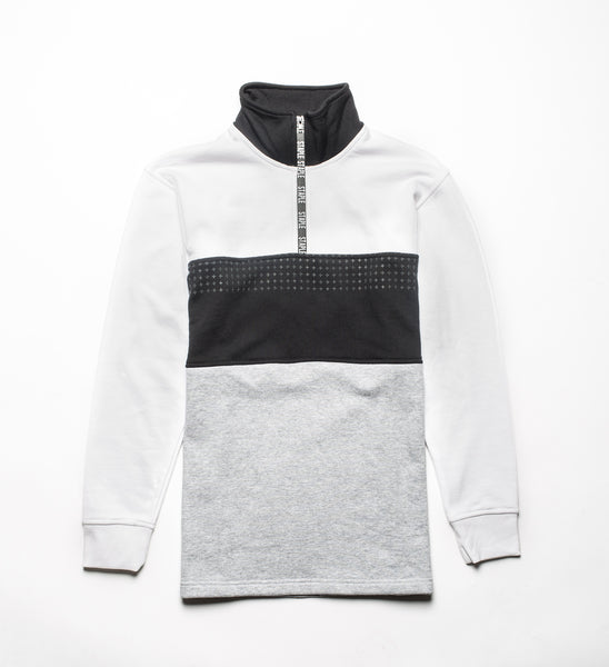 Tape Mockneck Sweat - Sweatshirt - Staple Pigeon