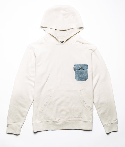 Denim Pocket Hoodie - Sweatshirt - Staple Pigeon