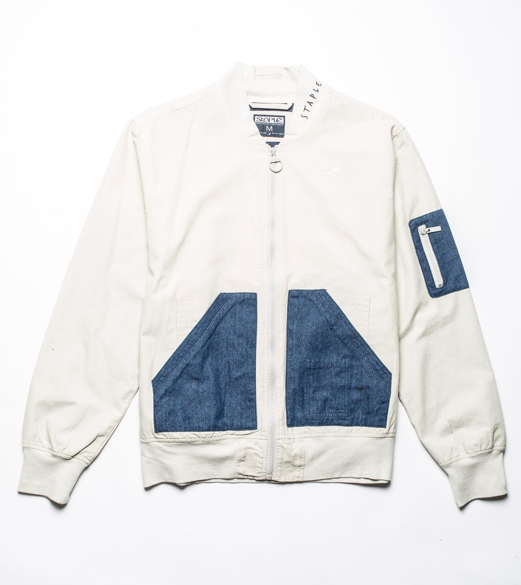 Denim Pocket Bomber - Jacket | Staple Pigeon