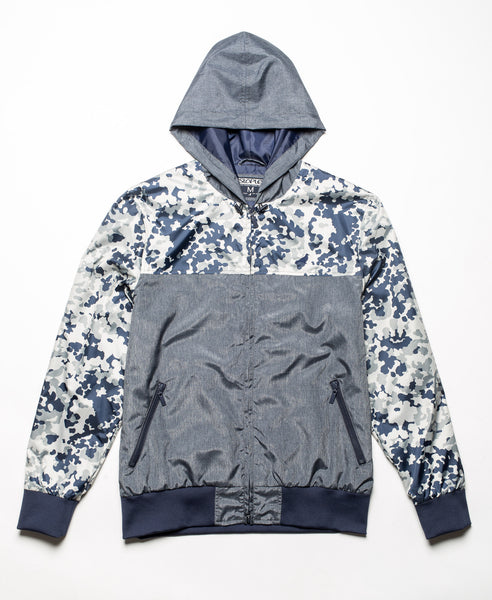 Camo Block Nylon jacket - Jacket - Staple Pigeon