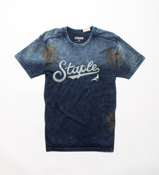 Indigo Washed Tee - Tee - Staple Pigeon