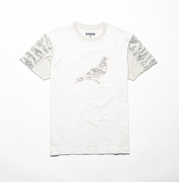 Camo Embroidered Pigeon Tee - Tee - Staple Pigeon