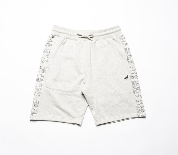 Camo Embroidered Sweatshorts - Shorts - Staple Pigeon