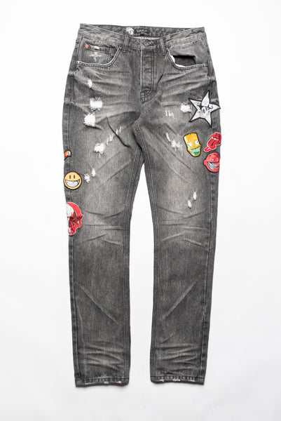 Ron English Patch Denim - Jeans - Staple Pigeon