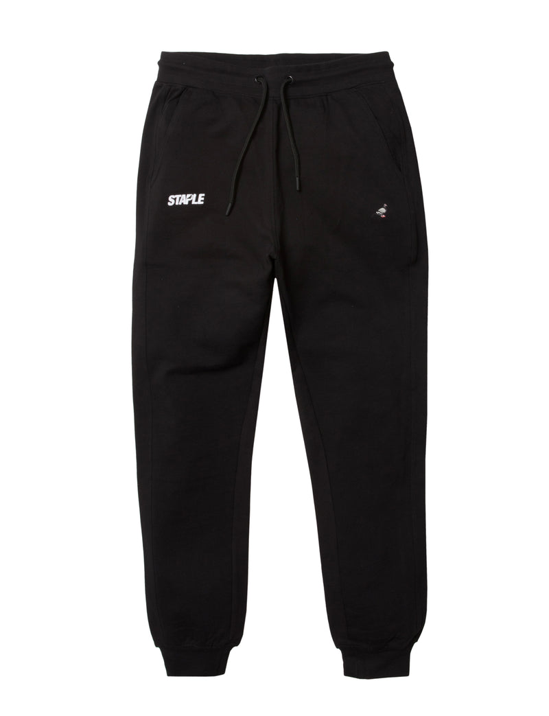 Embroidered Logo Sweatpants - Pants | Staple Pigeon