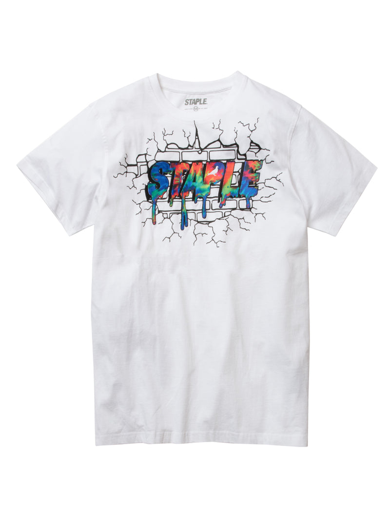 Wall Logo Tee - Tee | Staple Pigeon