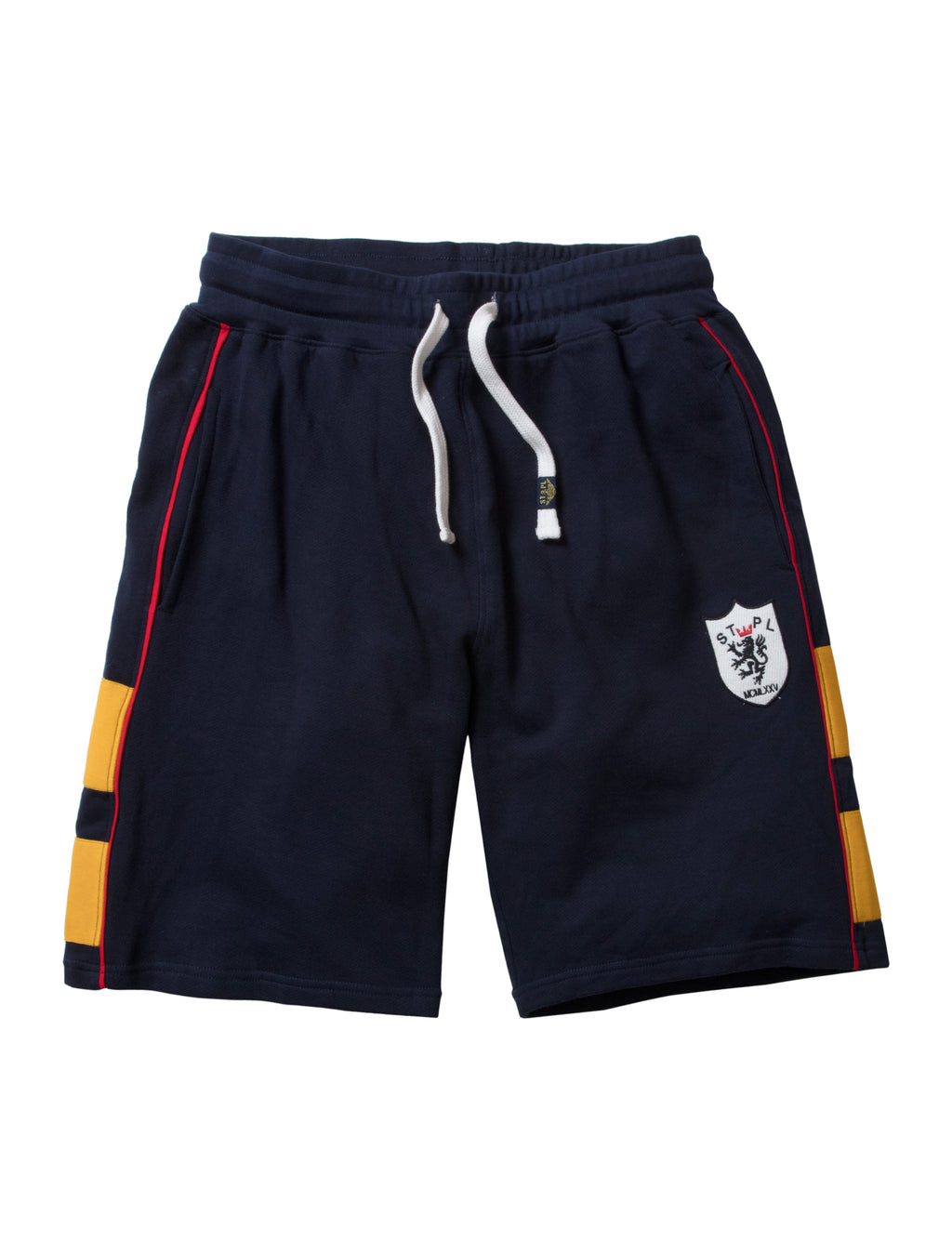 Multistripe Sweatshort - Shorts | Staple Pigeon