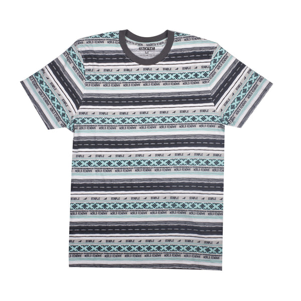 Tribe Stripe Tee - Tee - Staple Pigeon