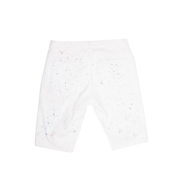 Fleck Denim Short - Shorts - Staple Pigeon