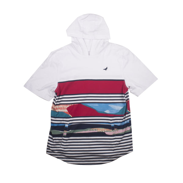 Totem Hooded Tee - Tee - Staple Pigeon