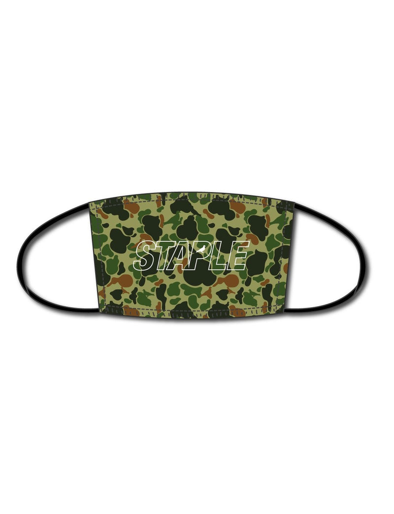STAPLE Camo Facemask - Mask | Staple Pigeon