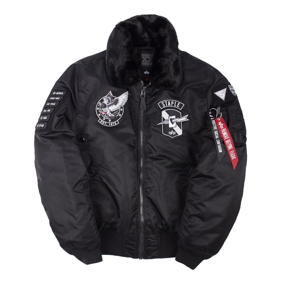 Staple x Alpha Industries B-15 Flight Jacket - Jacket - Staple Pigeon