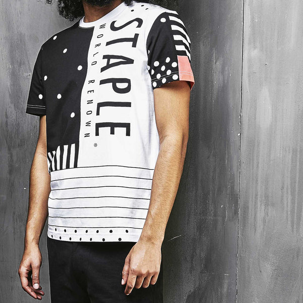 Dot Stripe Tee - Tee - Staple Pigeon