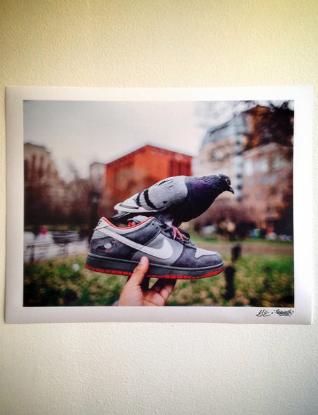 Staple Pigeon Dunk 10th Anniversary Print - Picture - Staple Pigeon