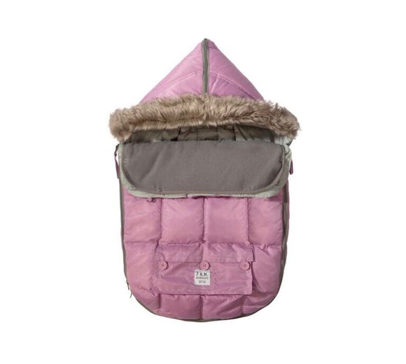 7 AM LE SAC IGLOO Medium Pink Baby Bunting