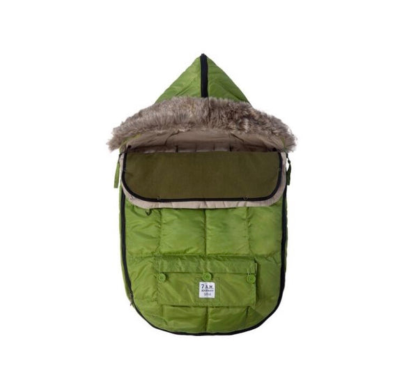 7 AM LE SAC IGLOO Medium Kiwi Baby Bunting